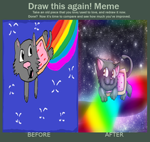 Draw this agian meme Nyan Cat by HG-The-Hamster
