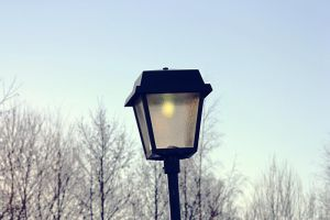 The lamppost by PoetBanana