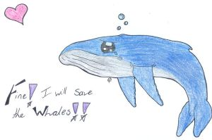 Save the Whales by celuthea