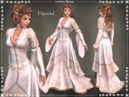 Tinuviel Gown by Elvina-Ewing
