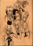 Pika Jareth Studies by AiijuinGraphics