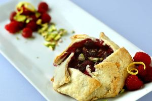 Raspberry Galette by bittykate