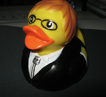 Alan rubber ducky by ColorPixie