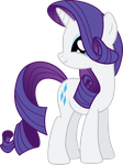Vector 26} Rarity being Adorable by RosaIine