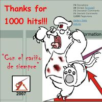 1,000 hits by Delta-Kaoz