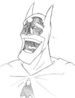 DDF - Laughing Batman by AndrewJHarmon
