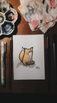 Little fox by Miaugosia