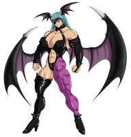 Morrigan fit for Battle by MarianGTS