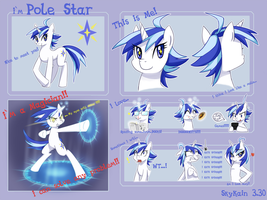 My ponysona:Pole Star by SkyKain