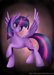 Princess Twilight Sparkle by IalyrnAeloria