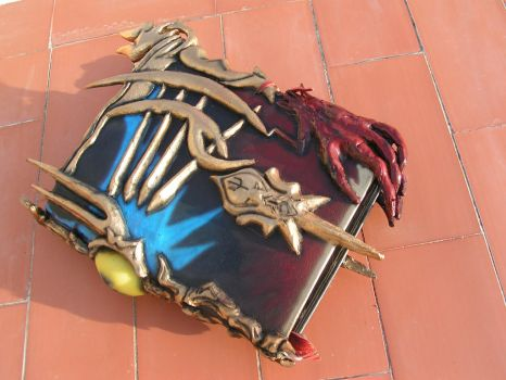 summoners book from final fantasy by faustus70