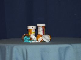 Pill Bottles2 by nitch-stock