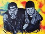 Jay and Silent Bob by Lopan4000