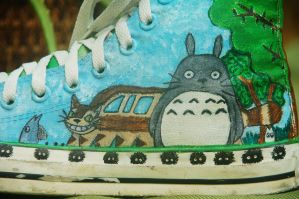 Studio Ghibli Shoes 1 by missprettylady