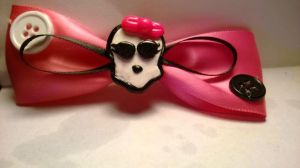 Monster High Hair Bow by Tiffanime1