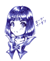 Chibi Sailor Saturn by kole