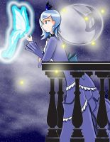 Melancholy of Princess Luna (Humanized) by blossomxdexter4eva