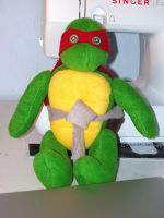 Raphael Plushie by chronicdoodler