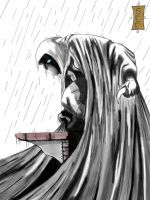 Moon Knight in the Rain by seggleston