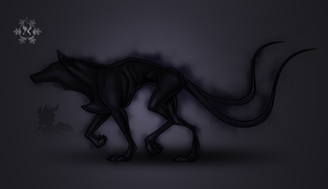 TLoS - Umbrawolf by DragonOfIceAndFire