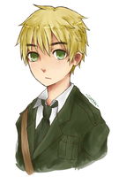[Hetalia] The British Gentleman by caeths