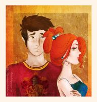 Leave me alone Potter by LilyRedHaired
