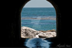 Tunnel to the Sea by MrAlexSan
