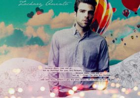 Zachary Quinto by glassballerina