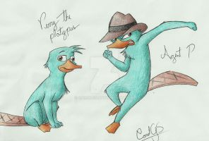 Perry in my style again :D by CarolGS