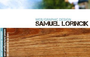 ...my first business card... by esleone