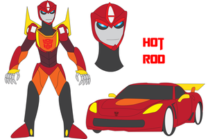 Transformers Neo - HOT ROD by Daizua123