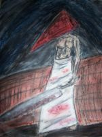 Pyramid Head by TwitchyTail