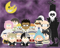 Soul Eater Students SP Wall by Dosu