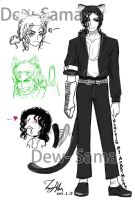 Blackie Character Setting by Dew-Sama