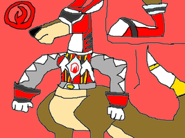 Power Rangers Kangaroo Fighters pt. 1 by conlimic000