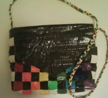Double Rainbow Duct Tape Purse by UnderCoverCottonswab