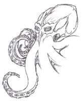 Octopus speed sketch by Nexovus