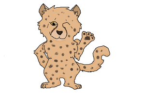 Cheetah for GreyKitty by PuppyDawg1022