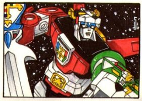 Voltron sketch card by ragelion