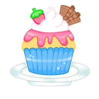 Cupcake by SweetPearTree