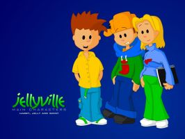 The Jellyville Characters by jellybeansoup