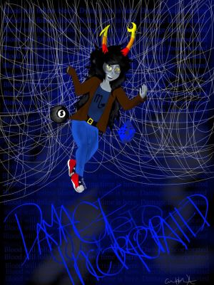 Vriska Serket Damage Inc. (Metallicastuck) by UniversalFangirl