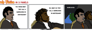 Pulp Fiction in 3 Panels by Cilmeron