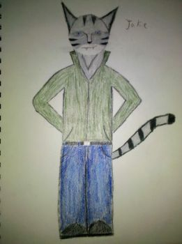 Jake The Tabby by DAMAGE175