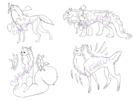 Guardian Sketches - WIP by CottinFurr