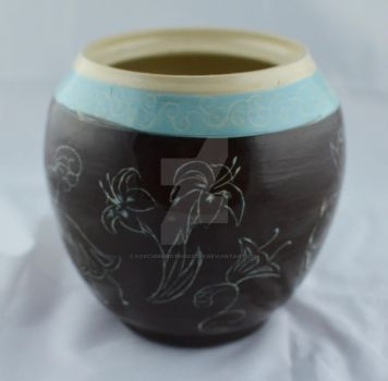 Big Etched pot side 2 by FoxCunningTrickster