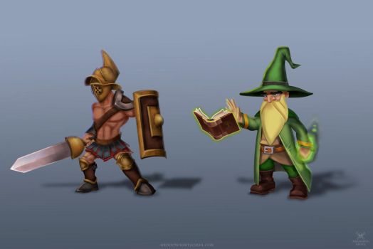 Characters Study by airdolphin