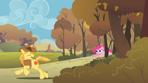 PinkieBurn Backdrop by dlazerous