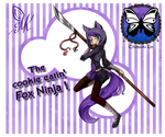 I'm a cookie eating Fox Ninja! by ChitsukiLin69