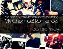My Chemical Romance Wallpaper by 333Miami333